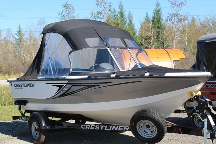 2018 Crestliner 1850 Sportfish Outboard Photo 1 of 1