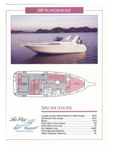 1989 Sea Ray 280 Sundancer Photo 39 of 40