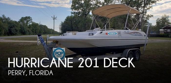 2015 Hurricane 201 Deck Photo 1 of 21