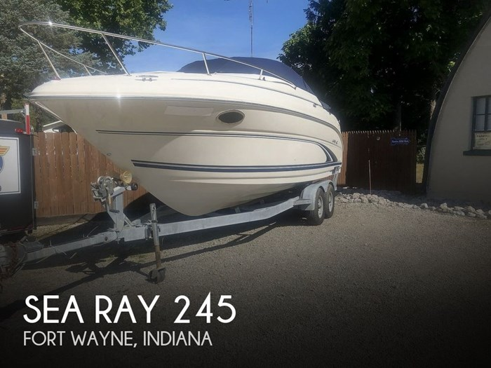 2001 Sea Ray 245 Weekender Photo 1 sur 20
