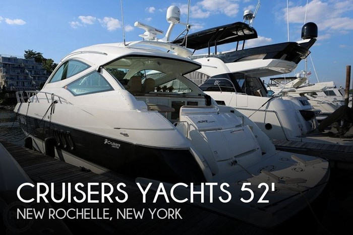 2009 Cruisers Yachts 520 Sports Coupe Photo 1 sur 20