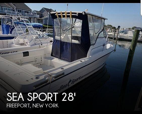 2000 Sea Sport 2744 Walkaround Photo 1 of 12