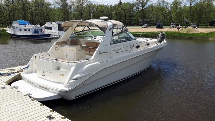 1997 Sea Ray 330 Sundancer Photo 5 sur 20