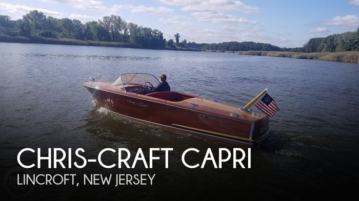 1958 Chris-Craft Capri Photo 1 sur 20