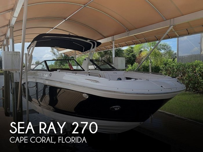 2019 Sea Ray SDX 270 SD OB Photo 1 of 20