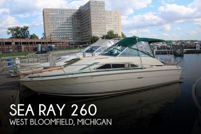 1980 Sea Ray Sundancer 260 SRV Photo 1 sur 20