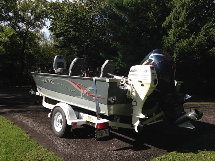 2001 Lund Angler 1700SS, Ready for Fall Fishing! A1 shape Photo 5 of 28