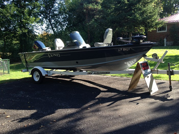 2001 Lund Angler 1700SS, Ready for Fall Fishing! A1 shape Photo 7 of 28