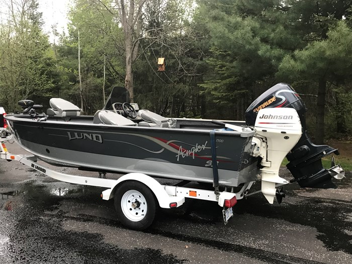 2001 Lund Angler 1700SS, Ready for Fall Fishing! A1 shape Photo 12 of 28