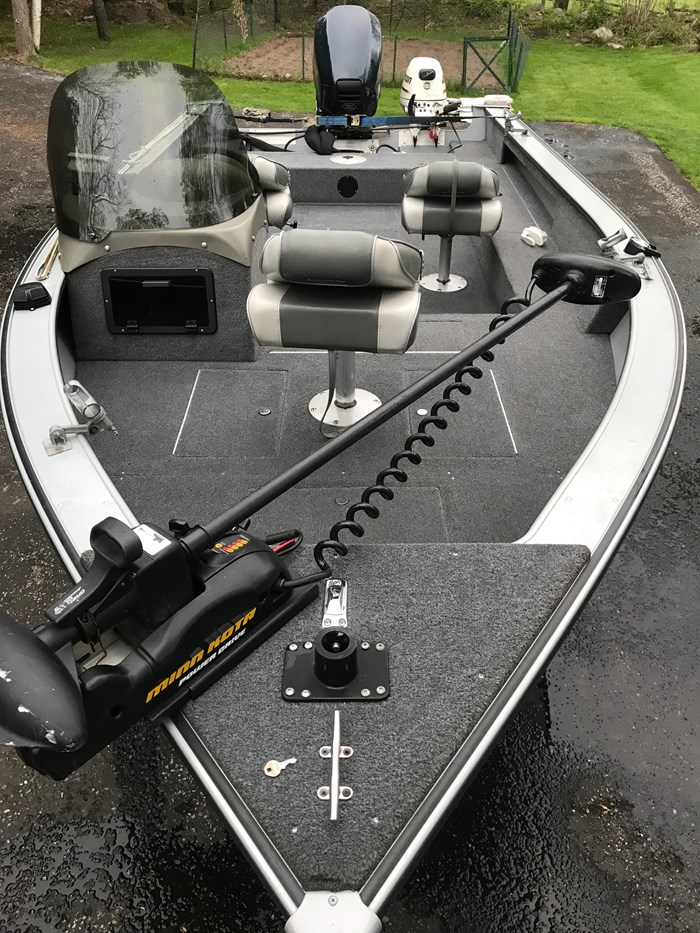 2001 Lund Angler 1700SS, Ready for Fall Fishing! A1 shape Photo 14 of 28