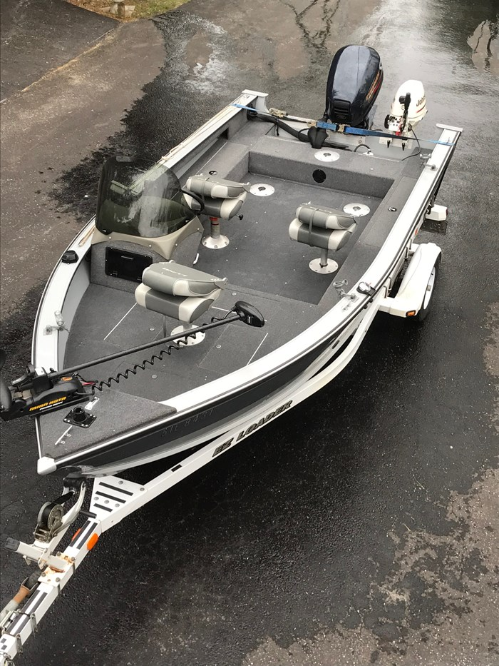 2001 Lund Angler 1700SS, Ready for Fall Fishing! A1 shape Photo 4 of 28