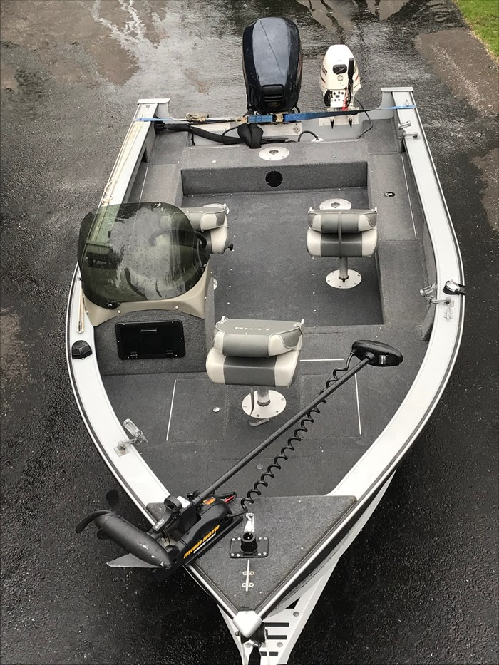 2001 Lund Angler 1700SS, Ready for Fall Fishing! A1 shape Photo 15 of 28