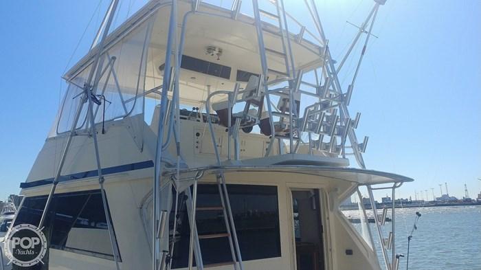 1990 Viking Yachts 53 Convertible Sport Fisherman Photo 9 sur 20