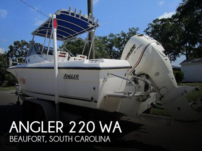 2001 Angler 220 WA Photo 1 sur 20
