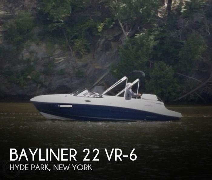 2017 Bayliner 22 VR-6 Photo 1 sur 3