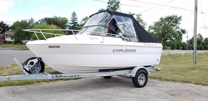 Explorer EX18 Cuddy
