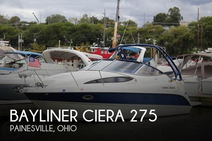 2005 Bayliner Ciera 275 Photo 1 sur 20