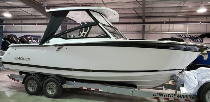 2020 Blackfin 272DC Dual Console Photo 1 of 26