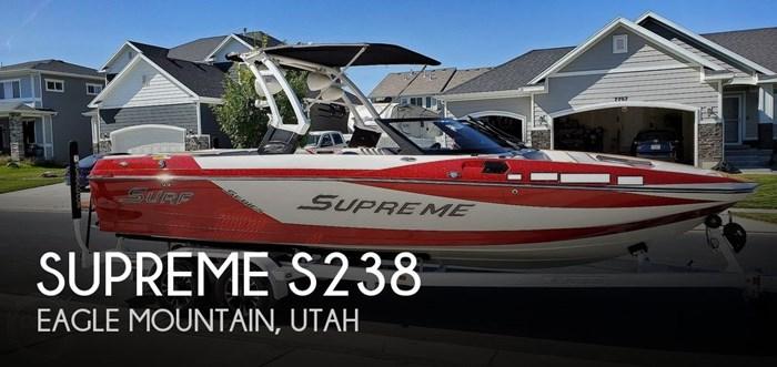 2018 Supreme S238 Photo 1 sur 20