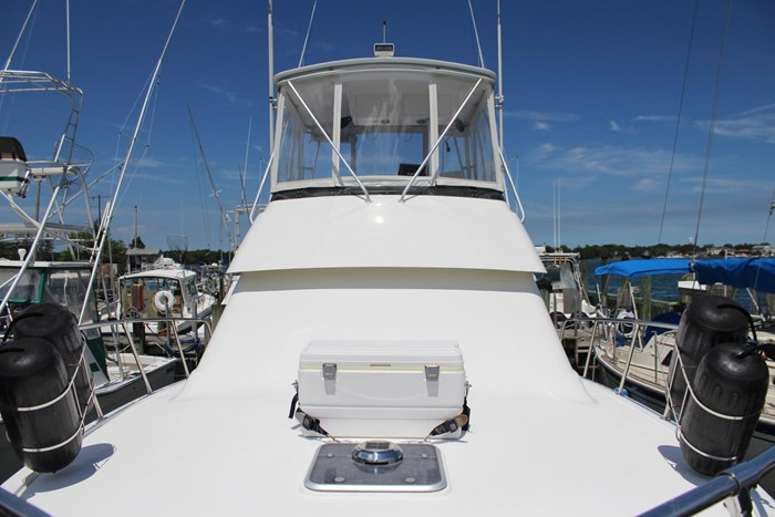 1996 Hatteras 39 Convertible Photo 36 of 37