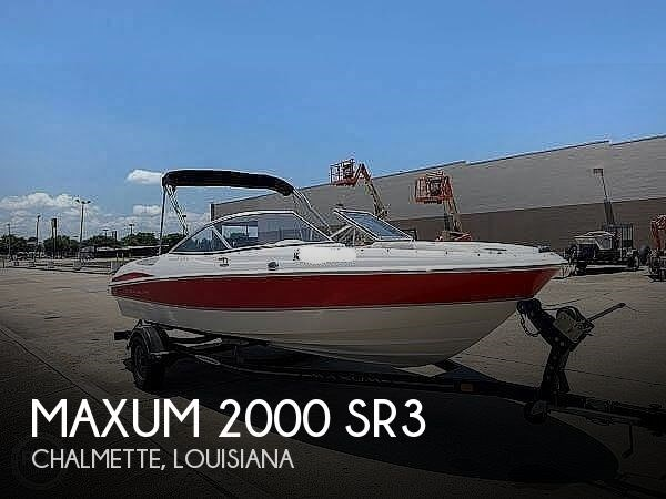 2008 Maxum 2000 SR3 Photo 1 of 20