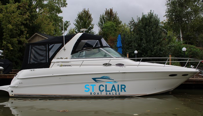 2000 Sea Ray 310 Sundancer Photo 1 of 46