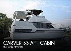 1992 Carver 33 Aft Cabin Photo 1 of 20