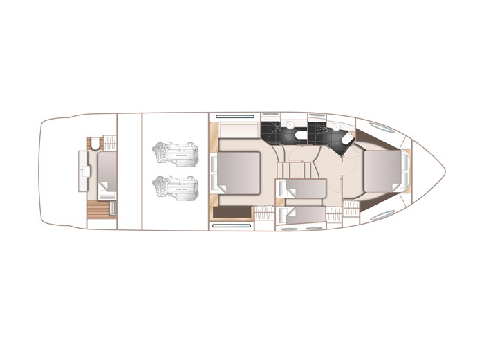 2015 Princess 52 Flybridge Photo 63 sur 63