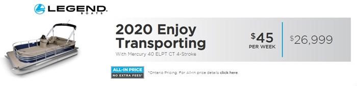 2020 LEGEND Enjoy Transport Photo 2 of 6
