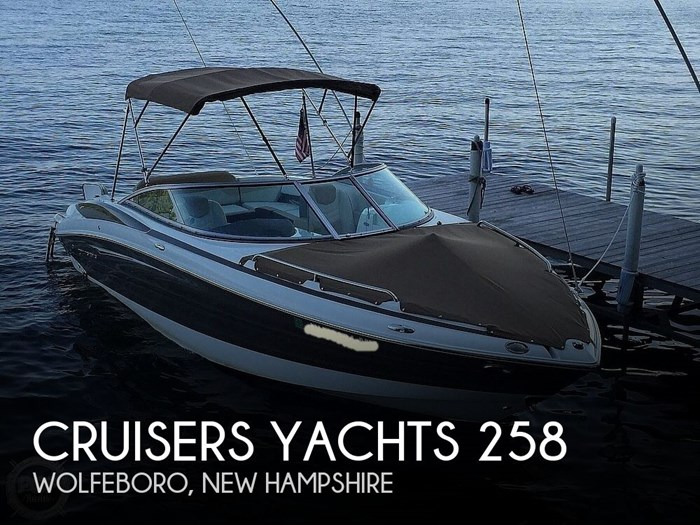 2015 Cruisers Yachts Sport Series 258 BR Photo 1 sur 21