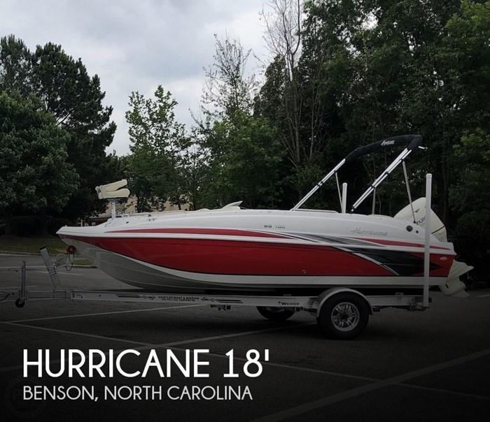 2019 Hurricane SunDeck Sport 188 Photo 1 of 20