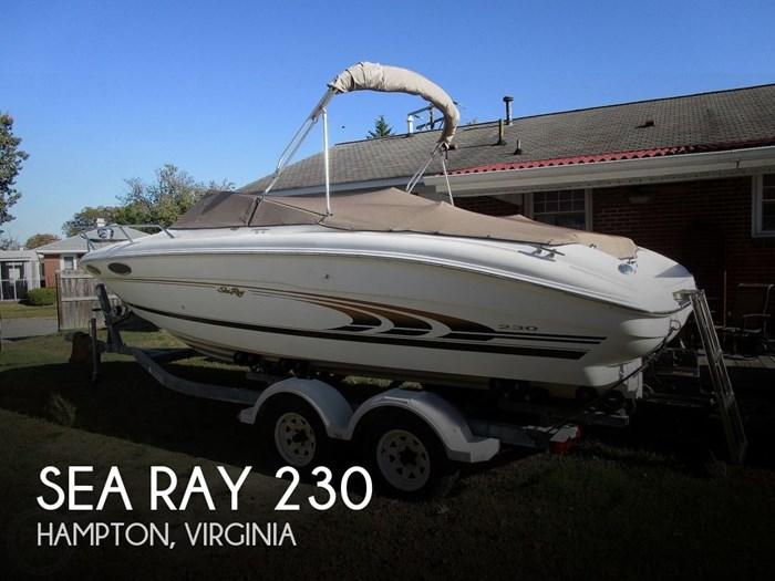 1997 Sea Ray 230 Signature Photo 1 of 20