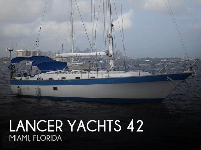 1981 Lancer Yachts 42 Masthead Sloop Photo 1 sur 20