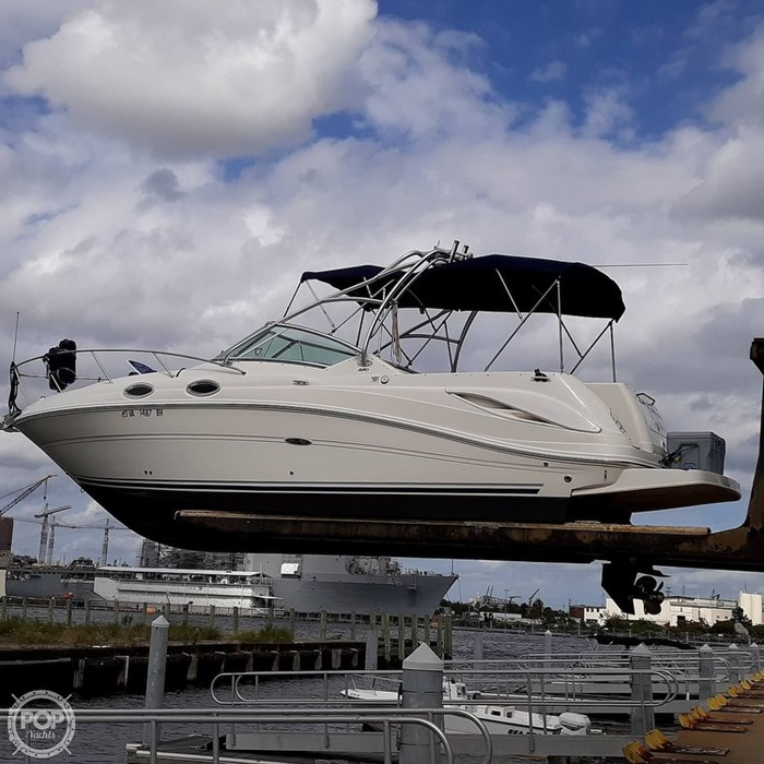 2006 Sea Ray 270 Amberjack Photo 9 of 20
