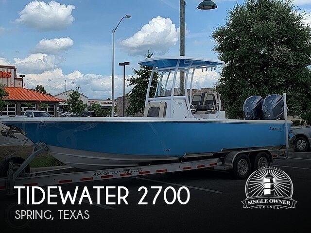 2019 Tidewater 2700 Carolina Bay Photo 1 of 20