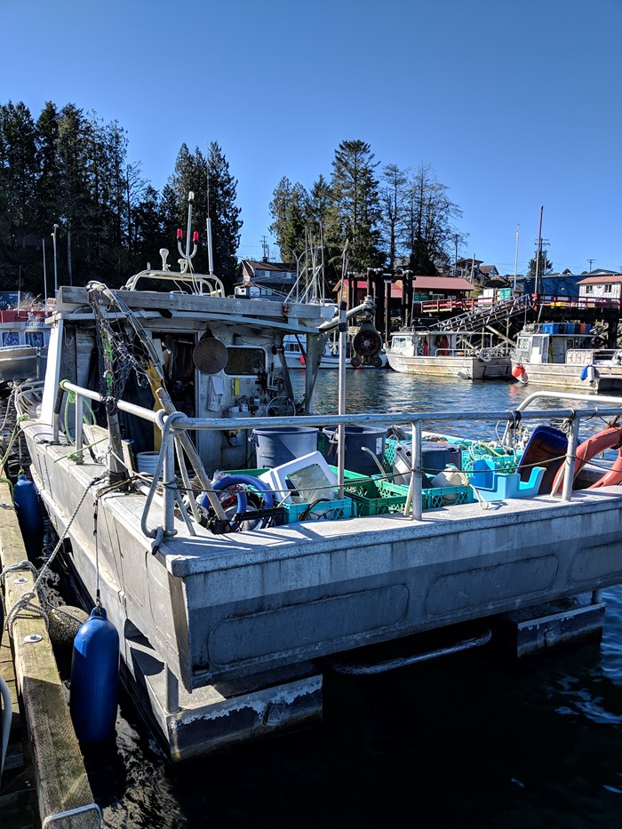 1997 Thompson Bros Custom commercial crab fishing boat with license Photo 3 of 4