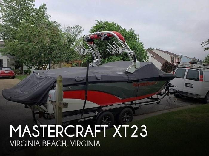 2017 Mastercraft XT23 Photo 1 sur 20