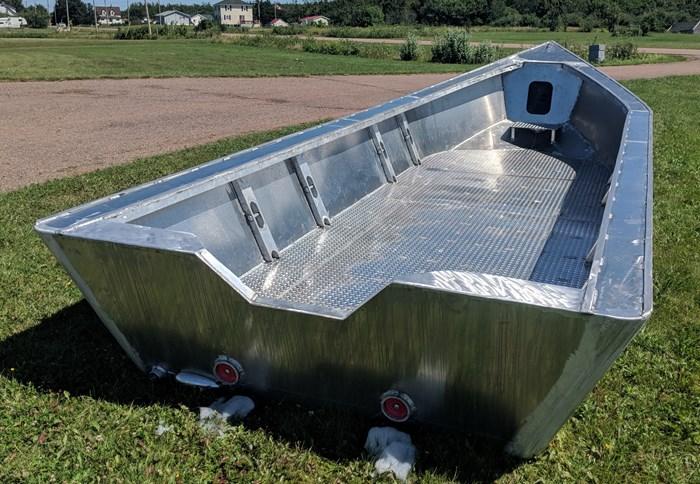 2020 21' x 8' Aluminum Dory/ Work Boat - NEW BUILD Photo 1 of 4