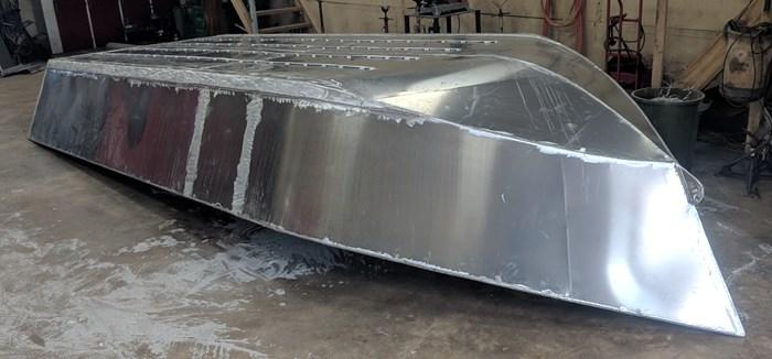 2020 21' x 8' Aluminum Dory/ Work Boat - NEW BUILD Photo 4 of 4