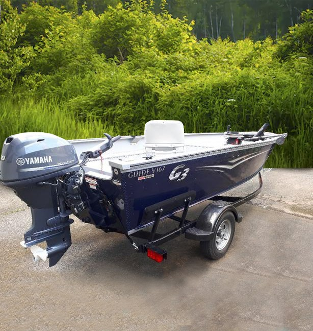 2019 G3 V167T with Outboard and Trailer Package Photo 1 sur 8