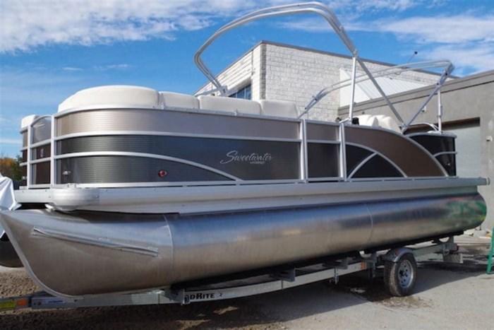 2017 Godfrey Pontoons SWPE235SR - Pontoon Boat with outboard motor Photo 8 sur 8