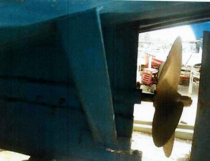 1982 37' x 11' Trawler Steel and Aluminum Photo 36 sur 37