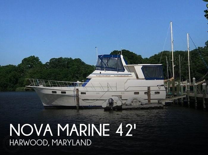 1985 Nova Marine Sundeck 42 Photo 1 sur 20