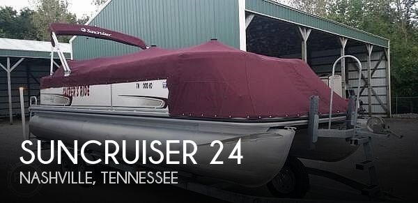 Suncruiser 24 2009 Used Boat For Sale In Nashville Tennessee Boatdealers Ca