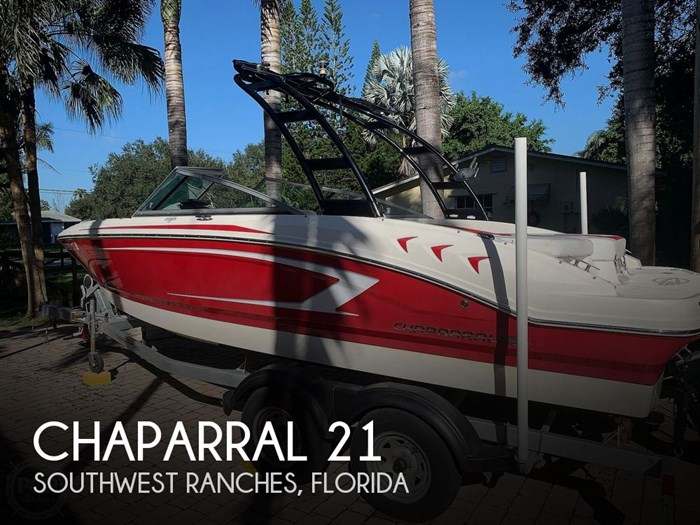 2015 Chaparral 21 H20 Sport Photo 1 of 20