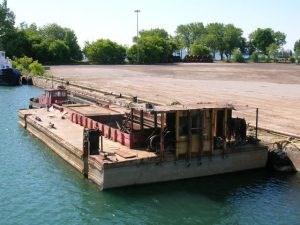 1960 70' x 30' x 7' Hopper Barge Photo 2 sur 4