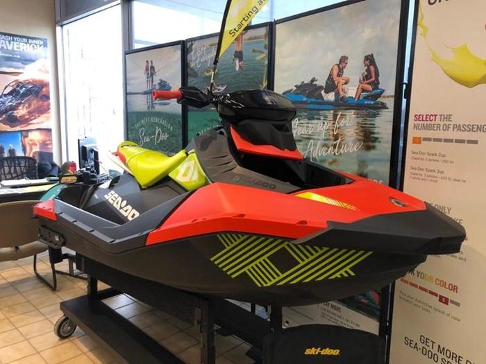 2020 Sea-Doo Spark® Trixx™ 3-up Rotax® 900 H.O. ACE™ Photo 1 of 3