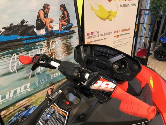 2020 Sea-Doo Spark® Trixx™ 3-up Rotax® 900 H.O. ACE™ Photo 2 of 3