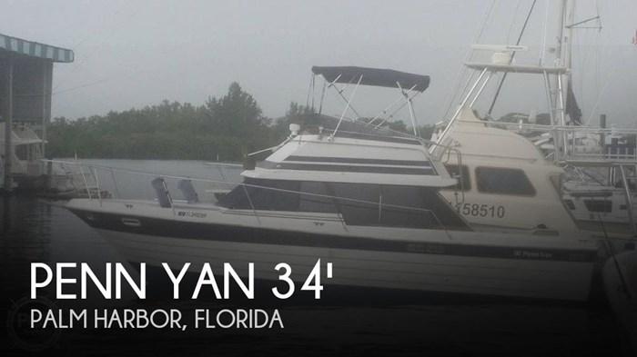 1982 Penn Yan 33 Sedan Sportfish Photo 1 sur 20