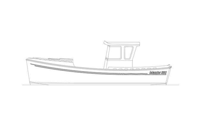 2020 custom Islander 230 Photo 2 sur 14
